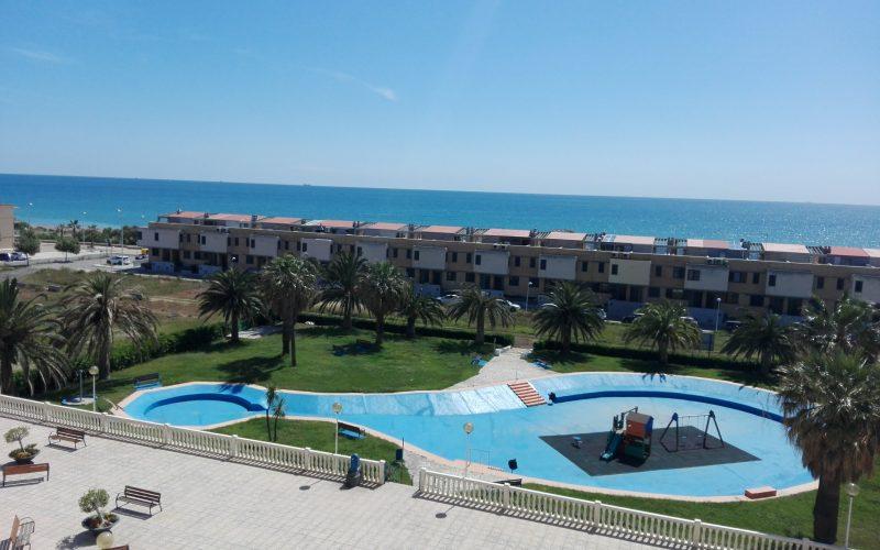 vistas al mar desde el apartamento