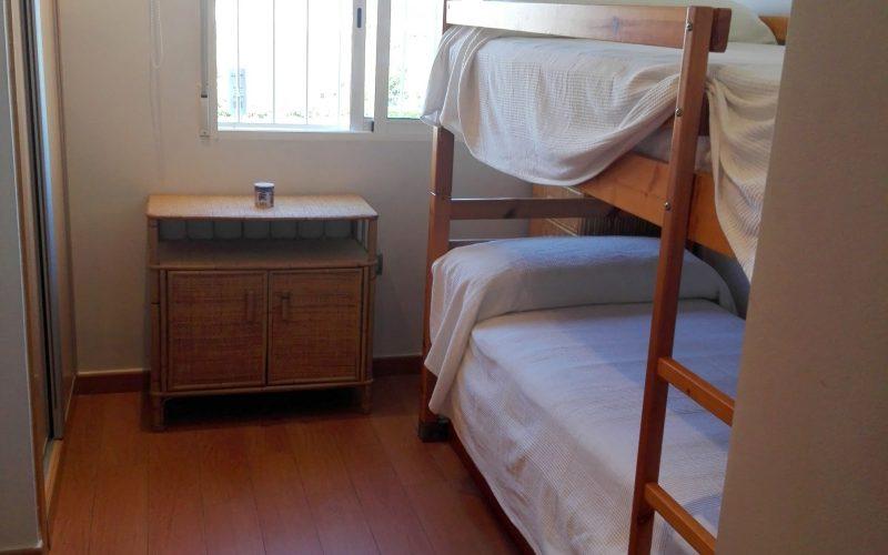 segundo dormitorio con litera