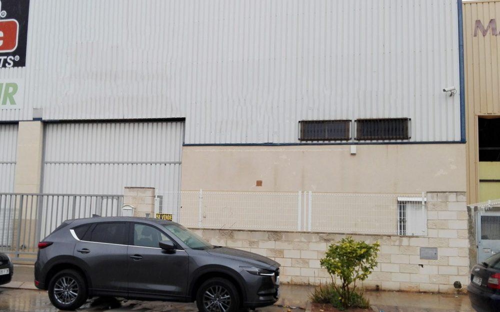 Ref. 000527 – Nave industrial en venta en Moncada Valencia