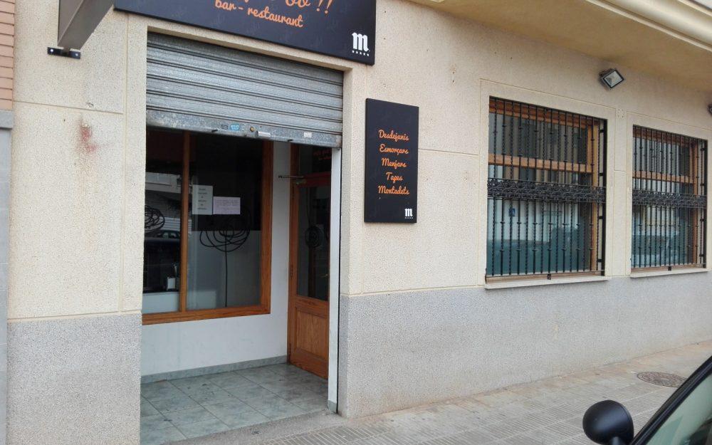 Ref. 000564 – Traspaso bar-restaurante en Nules. OPORTUNIDAD!
