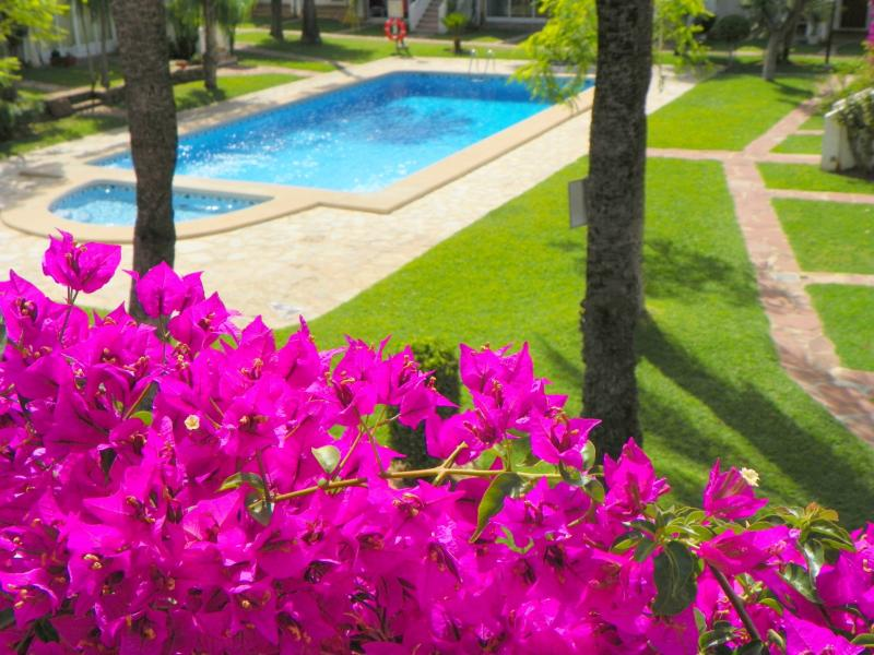 Ref. 000752- One bedroom apartment for sale in Les rotes, Denia