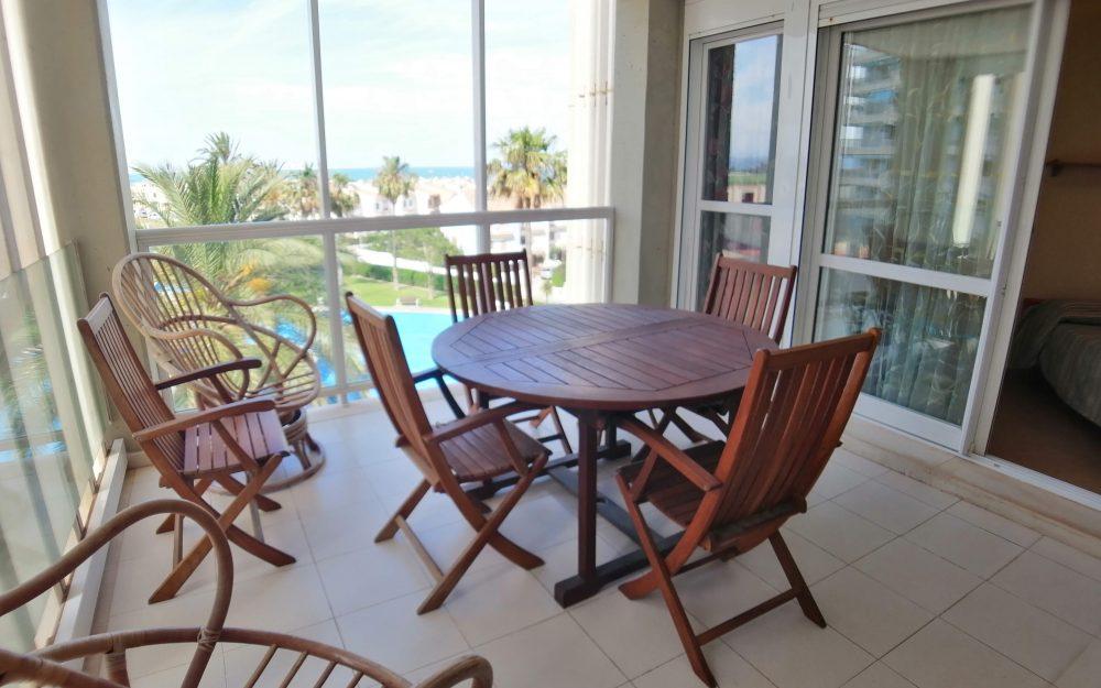 Appartement à louer à Playa del Puig-Ref. 000867