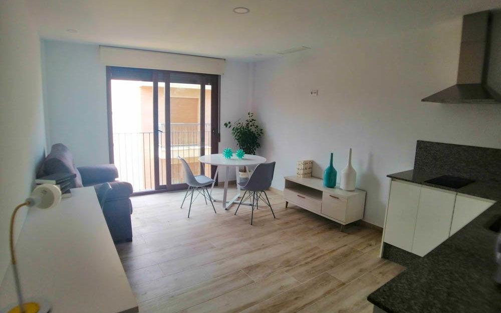 Estudio-apartamentos con habitación doble para estudiantes en Residencia Universitaria nueva Alfara del Patriarca – Ref. 001003