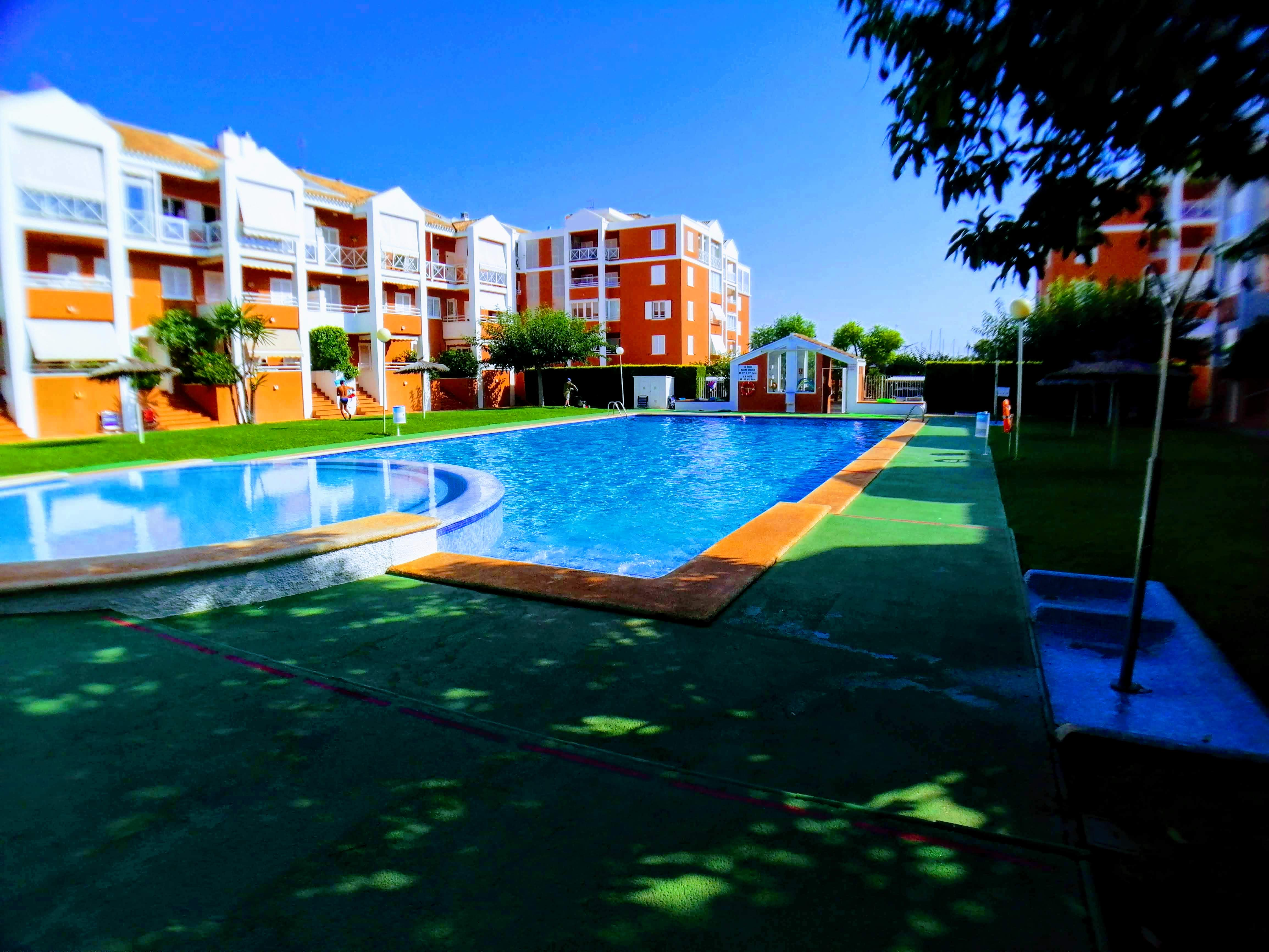 Apartment for rent near town centre and Club Nautica of Denia – Ref. 001023