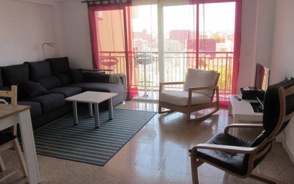 Apartment for rent in El Cabanyal-El Canyamelar – Ref. 000970